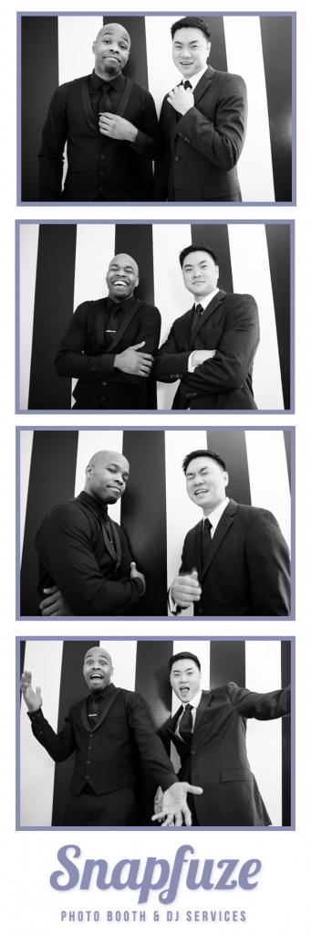 Owners of Snapfuze Photo Booth & DJ Services Martin Smith & Andy Yim